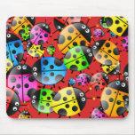 Ladybug Wallpaper Mousepad