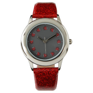 Ladybug Watch Cute Ladybird Wrist Watch Bug Gifts
