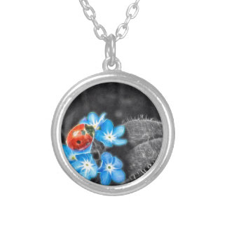 Ladybug Wonder Silver Plated Necklace
