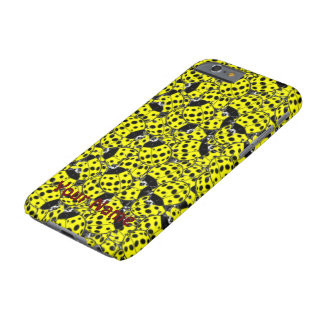 Ladybug Yellow Barely There iPhone 6 Case