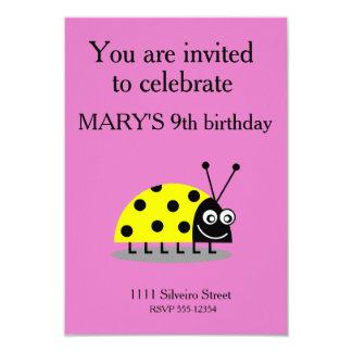 Ladybug Yellow Card
