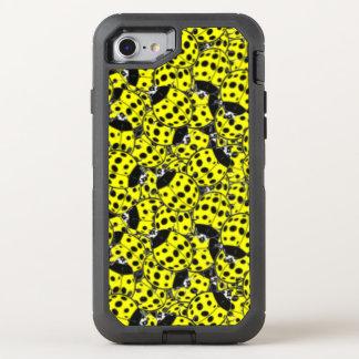 Ladybug Yellow OtterBox Defender iPhone 7 Case