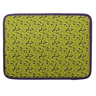Ladybug Yellow Sleeve For MacBook Pro