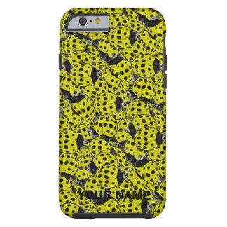 Ladybug Yellow Tough iPhone 6 Case