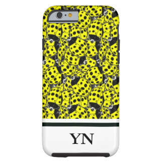 Ladybug Yellow Tough iPhone 6 Case