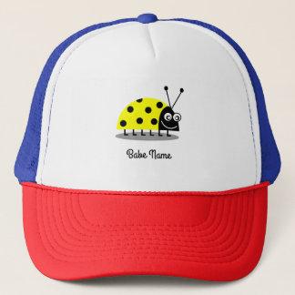 Ladybug Yellow Trucker Hat