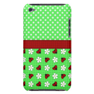 Ladybugs and Daisies Case-Mate iPod Touch Case