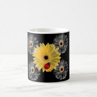 Ladybugs and Daisies Coffee Mugs