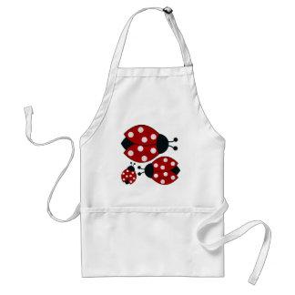 Ladybugs Adult Apron