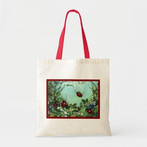 Ladybugs At Play Bag