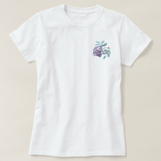 Ladybugs at Work, Sumi-e in color ink T-Shirt