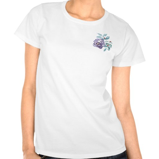 Ladybugs at Work, Sumi-e in color ink T Shirt