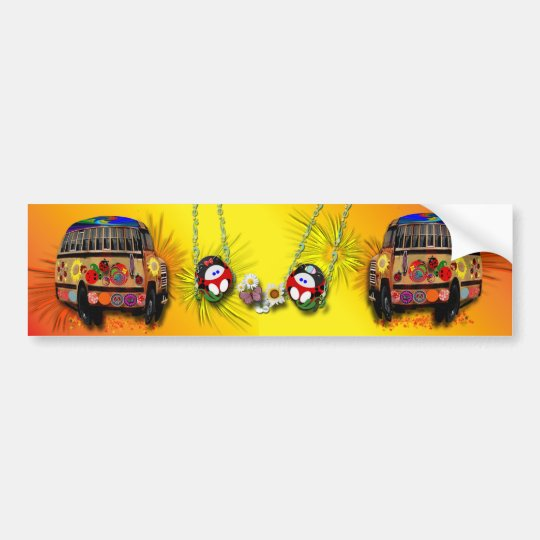 Ladybugs Bumper Sticker
