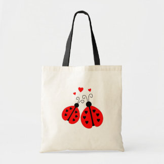 Ladybugs in Love Tote Bag