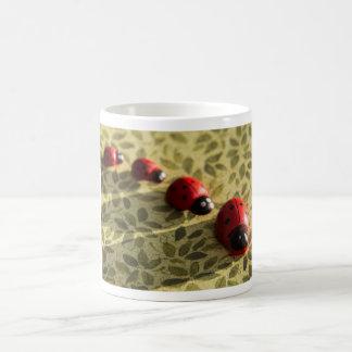 Ladybugs on a mug