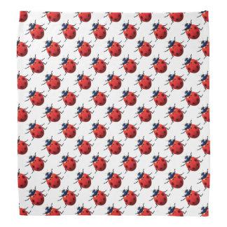 Ladybugs Pattern Bandana