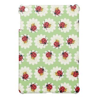 Ladybugs pattern iPad mini cases