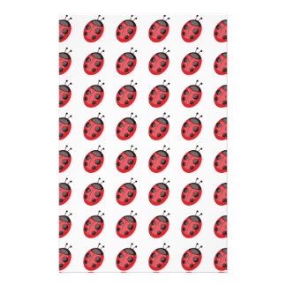 Ladybugs Pattern Ladybugs Design Personalized Flyer