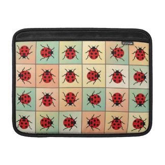 Ladybugs pattern sleeve for MacBook air