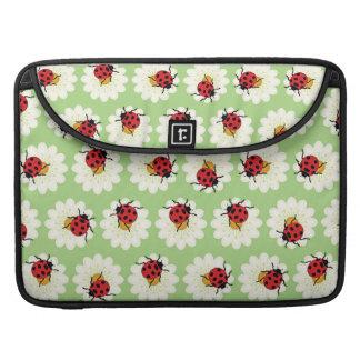 Ladybugs pattern sleeve for MacBooks