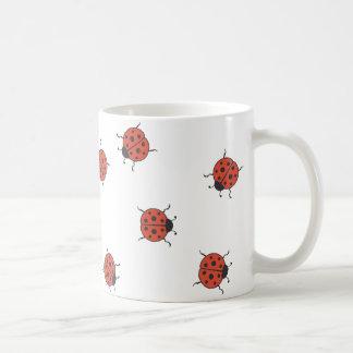 Ladybugz Pattern Coffee Mug