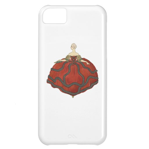 Lady's Ball Gown iPhone 5C Covers