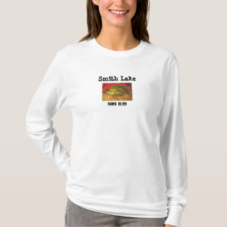 "Lady's Fish T-shirt ""Smith Lake"" Alabama"