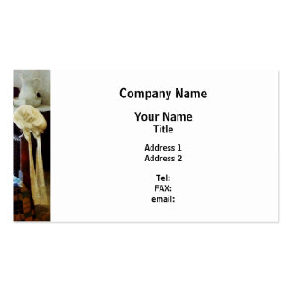 Lady's Night Cap Business Card Templates