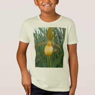 Lady's Slipper Kids' Organic T-Shirt