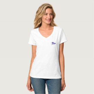 Lady's V-neck T-shirt
