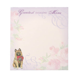 Laekenois Heart Mom Notepad