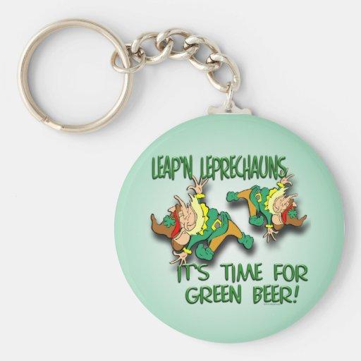 Laep'n Leprechauns... Keychain