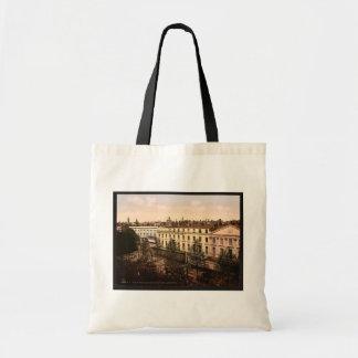 Lafayette Boulevard, Toulouse, France vintage Phot Tote Bag