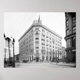 Lafayette Hotel, Buffalo, N.Y.: 1906 Poster