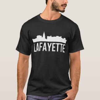 Lafayette Indiana City Skyline T-Shirt