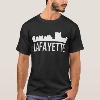 Lafayette Louisiana City Skyline T-Shirt