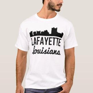 Lafayette Louisiana Skyline T-Shirt