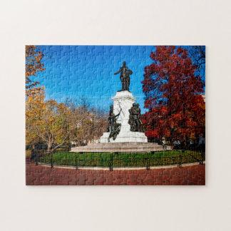 Lafayette Park Washington DC. Jigsaw Puzzle