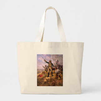 Lafayette's Baptism of Fire by E. Percy Moran Large Tote Bag