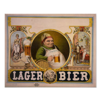 Lager Beer Poster