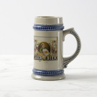 Lager Bier Label Beer Steins