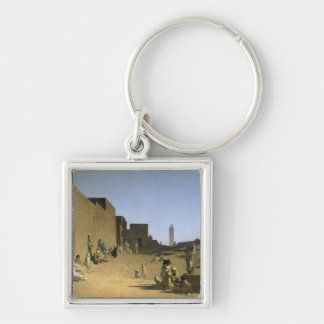 Laghouat in the Algerian Sahara, 1879 Key Ring