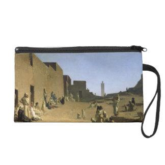 Laghouat in the Algerian Sahara, 1879 Wristlet Purse