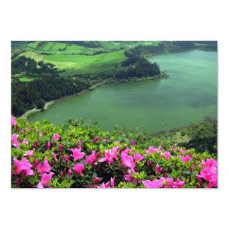 Lagoa das Furnas - Açores 13 Cm X 18 Cm Invitation Card