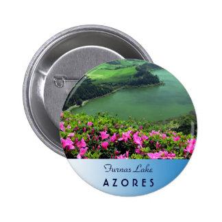 Lagoa das Furnas - Açores 6 Cm Round Badge