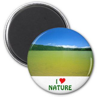 Lagoa das Furnas - Açores 6 Cm Round Magnet