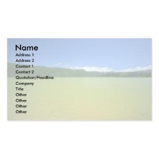 Lagoa das Furnas - Açores Business Card Template