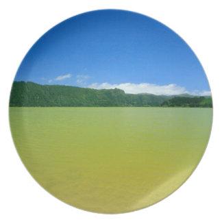 Lagoa das Furnas - Açores Dinner Plate