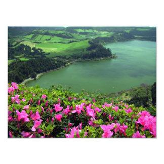 Lagoa das Furnas - Açores Photographic Print