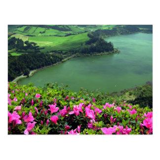 Lagoa das Furnas - Açores Postcard